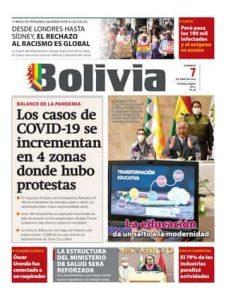 Periódico Bolivia Tapa