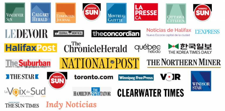 Diarios de Canadá