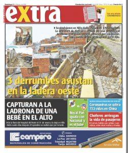 Periódico Extra Tapa