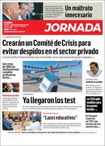 Periódico Jornada Tapa
