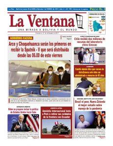 Periódico La Ventana Tapa