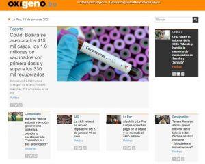 Periódico Oxígeno Digital